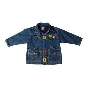 GYMBOREE Denim Jacket  Boys Patchwork Size M